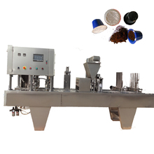 Automatic Nespresso Coffee Capsule Filling Machine and Machine for Making Capsules