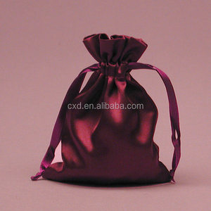 Black Custom Hair Extension Bags /Soft Satin Bags Hair /Satin Bag