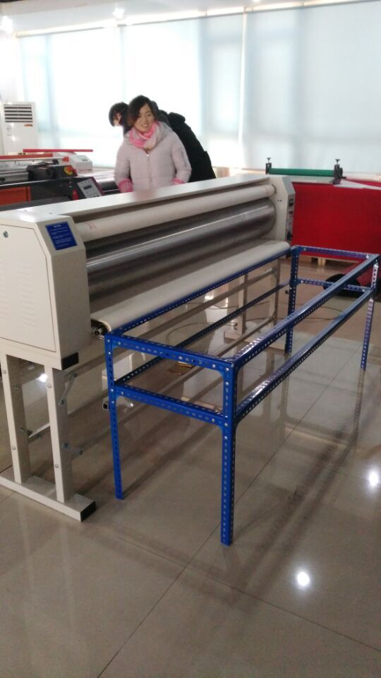 roll heat press with blankets/heat transfer machines