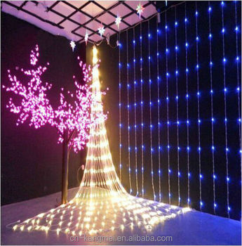 Led waterfall christmas light holiday party wedding indoor outdoor decoration