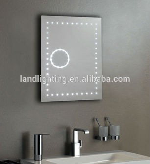 Bathroom Light Mirror Led Backlit Mirror With 3x Magnification ...