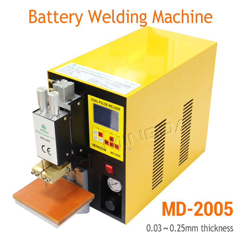 Hot seller Dual pulse battery spot welding machine 18650 lithium battery welder