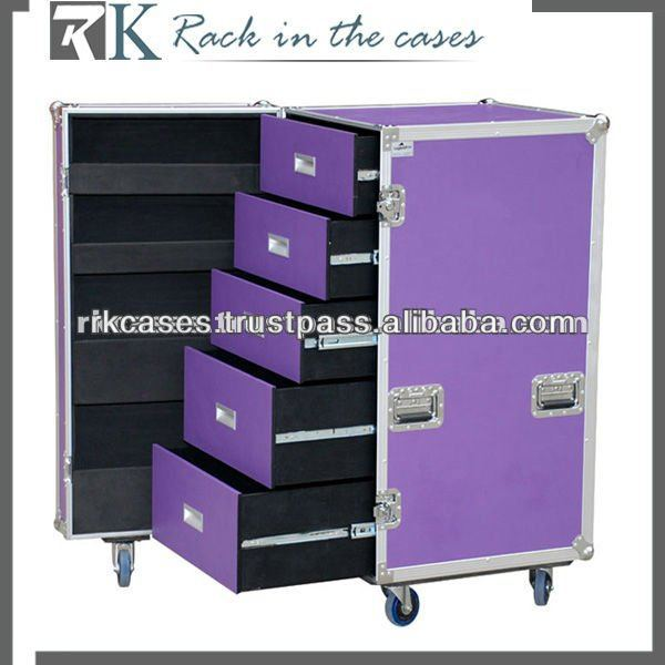 RK road case ,flight case ,ATA case with 6 drawers
