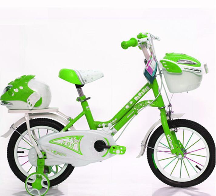 "16/"" Magnesium Alloy Children KID BMX Bike with training Wheel red"