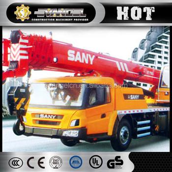 China Mobile Crane Sany Truck Crane Stc800