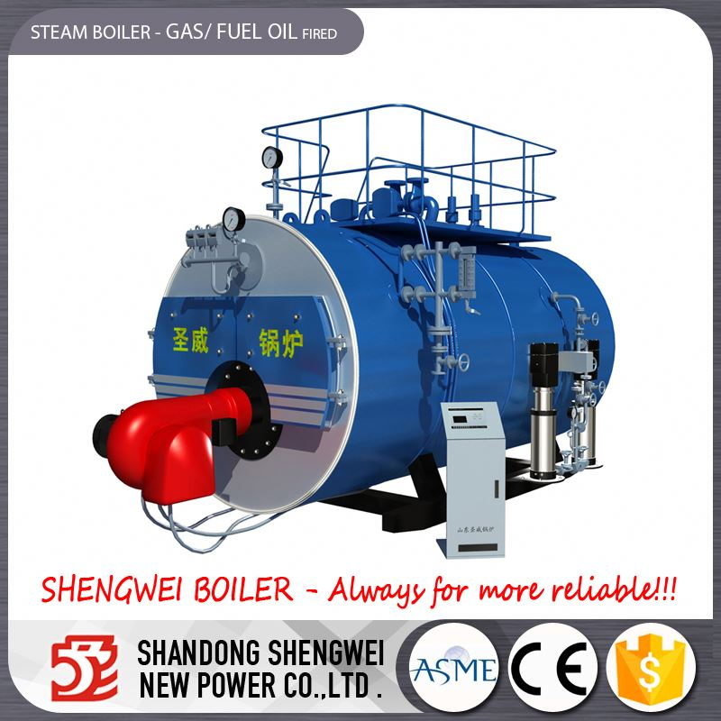 Horizontal Oil Fired Hot Water Heating Boiler