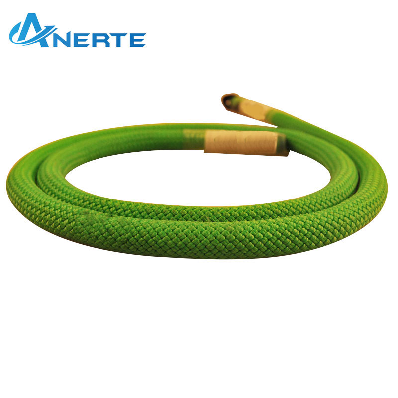 double braid nylon three stand polyester kids climbing training safety rope