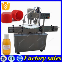 Factory price full automatic cap screwing machine,plastic bottle capper