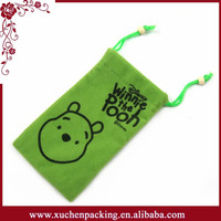 2015 New Style Wholesale Drawstring Small Advertising Gift Bag Making Companies