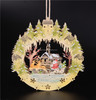 nice design gift festival wooden window light christmas decoration
