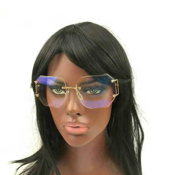 a1421d45cba Fashion Clear Lens African Style Sunglasses 2016 Women Rimless Sun Glasses  Cc0612 - Buy Sunglasses
