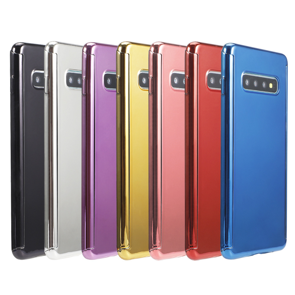 Factory Price For <strong>Samsung</strong> Galaxy <strong>S6</strong> <strong>edge</strong> Electroplate Mirror 360 Full Cover Phone <strong>Case</strong>