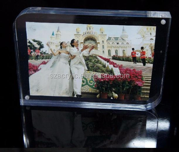 Custom photo frame acrylic picture frame for cloth shop hair salon photography company