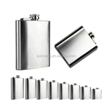 wholesale dishwasher safe 316 stainless steel 250ml hip flask