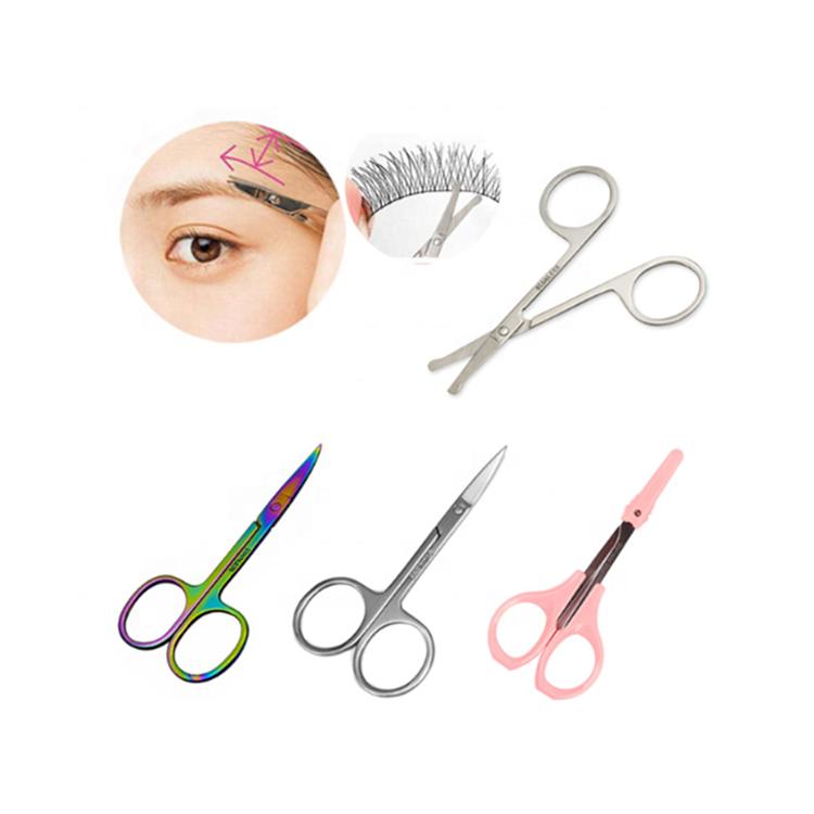 Trend Mark 5 Beauty Girl Lady Women Scissor Comb Eyelash Tool Eyebrow Shear Groom Eye Brow Trimmer Cosmetic Makeup Hair Trim Tools