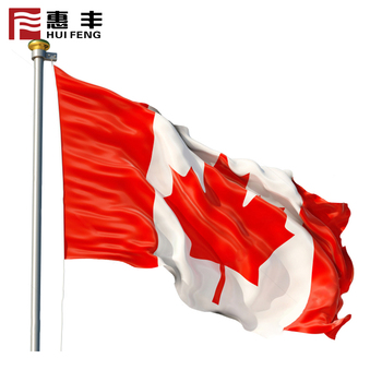 Factory Wholesale Senior 3X5Ft Country Flag , Canada Flag