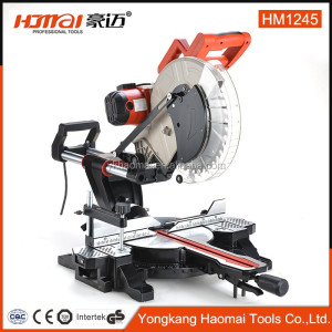 Low Noise Multiple-purpose 1700W industrial sliding miter saw