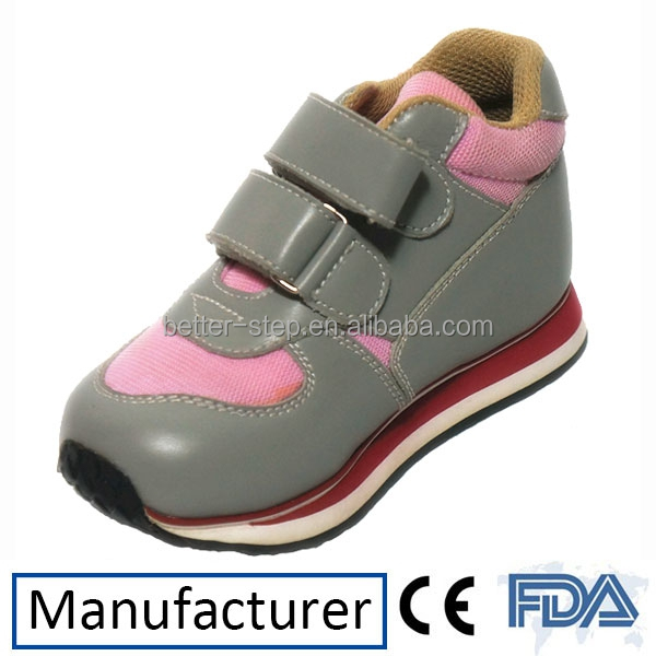 Leather Cute Baby Sneaker Orthopedic Shoes