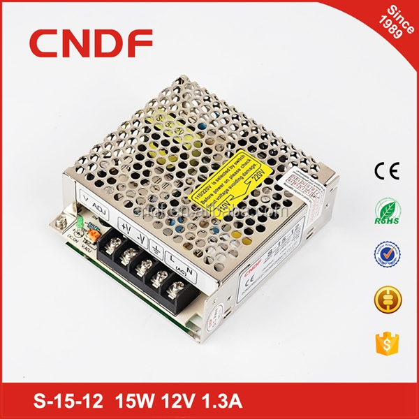 CNDF ac dc applied to CCTV 15W 5V 3A power supply switching smps