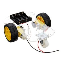 Robotlinking 2WD Transparent Robot Smart Car Chassis for Arduinos