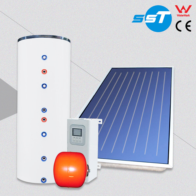 ISO9001 certified good quality thermosiphon solar water heating system