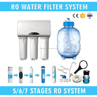 ISO 9001 Standard PET Commercial Grade 3.2 Gallon 5 Stage 75 GDP RO Water Purifier For School