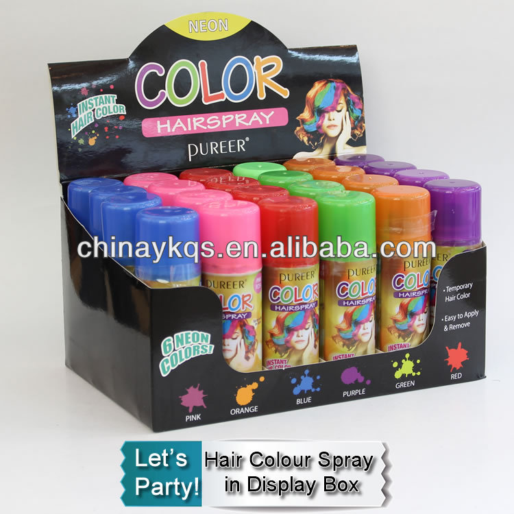 Colour Hair Paint Hair Color Spray In Display Box Buy Temporary