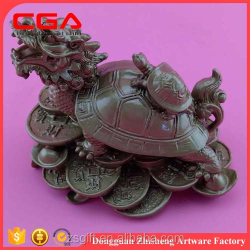 Factory custom wholesale polyresin Kylin Chinese dragon statues crafts and gifts home decor