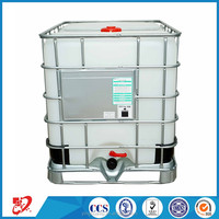 Diesel fuel square stainless steel IBC storage tank container
