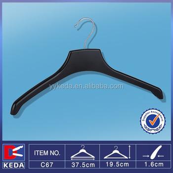 393 Plastic Arch Line Top Hanger No Concave Shoulder
