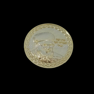custom foreign celebrity 3d metallic genuine gold coin