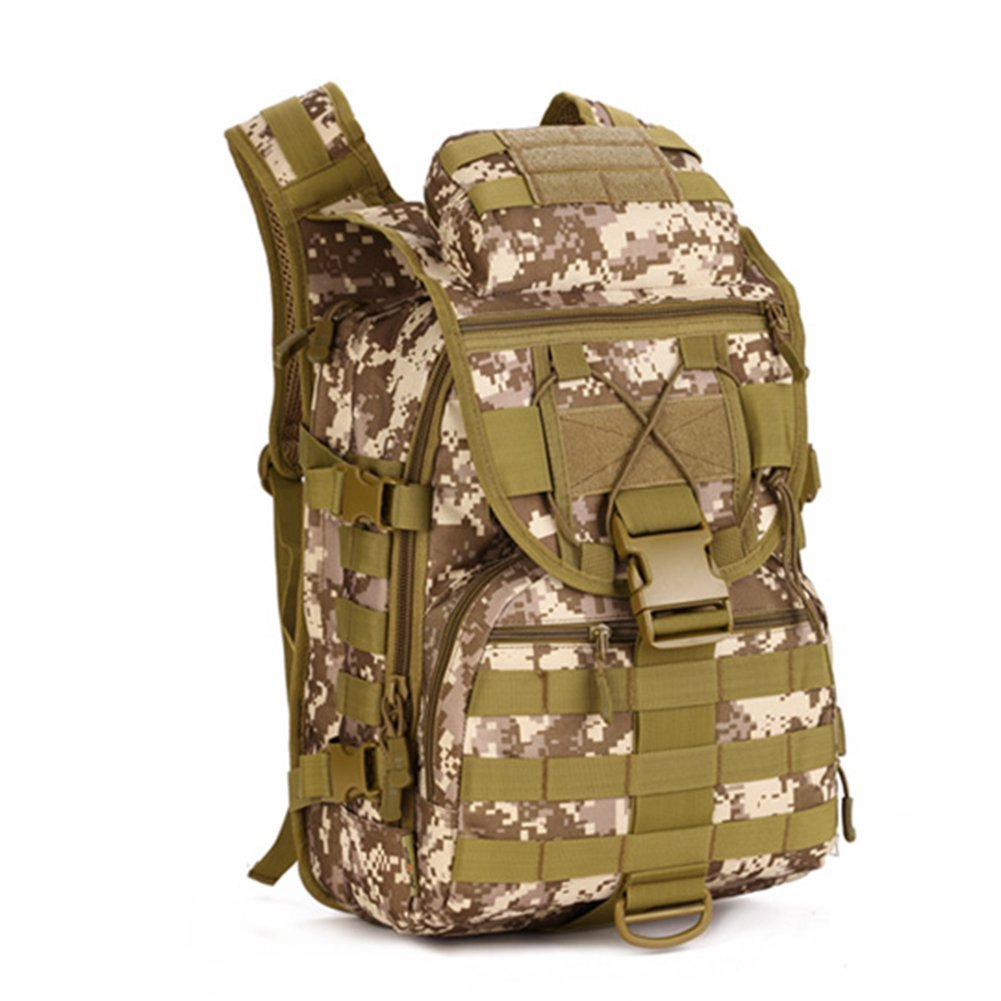 c469634674ab Get Quotations · X-Freedom 40L Military Daypack Military Style Backpack  Assult Pack Molle Hunting Backpack Waterproof Military