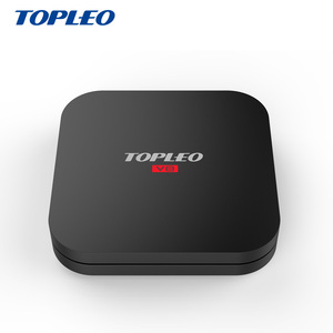Topleo V8 stream smart digital cable tv set top box Android 7.1 2gb RAM 16gb ROM