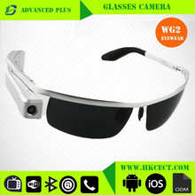 OEM Manufacturer Full HD 720P Glasses wireless night vision hidden camera long time recording