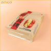 cat litter plastic bag with handle and zipper/biodegradable dog poop plastic bag with handle