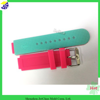 silicone watch bands with deployment clasp