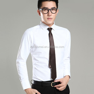 Men white dress shirt men's formal shirts,2015 Hot Selling Wholesale Clothing ,High Quality Apparel Factory Price Dress Shirt