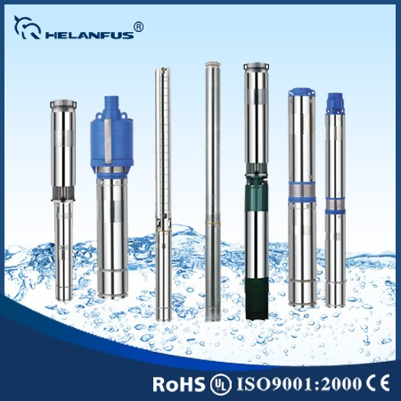 "3.5"" 4"" 6"" Stainless Steel Pump Brushless AC Submersible Solar Pumps 3hp Electric Submersible Water Pump"