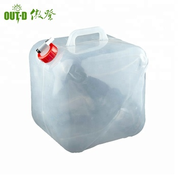 Camping Water Container >> Collapsible Foldable Camping Emergency Water Container Buy 19l