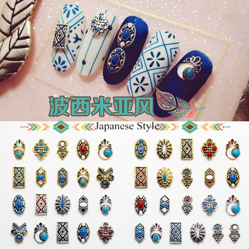 New Designs Bohemia Style Nails Supply And Beauty Japanese Nail Art