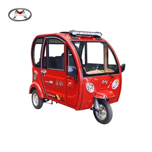 Closed cabin passenger tricycle/3 wheel electric motorcycle for passenger with 4 seats passenger use -Sagit P2