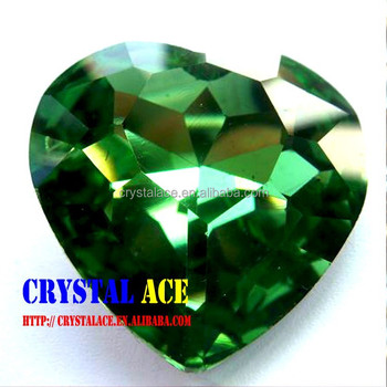 rings eeo heart emerald natural shaped handcrafted ring crystal gemstone