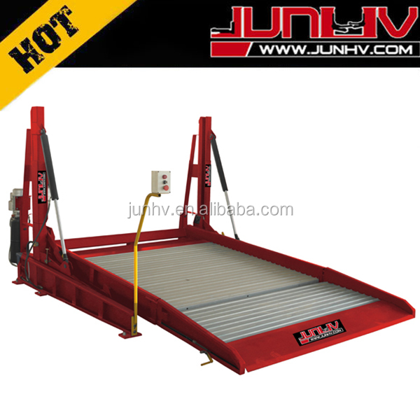 simple car parking electric hydraulic lift system for underground garage
