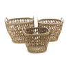 Eco-friendly Bamboo Fruit Basket Home Decorative Antique Storage Basket