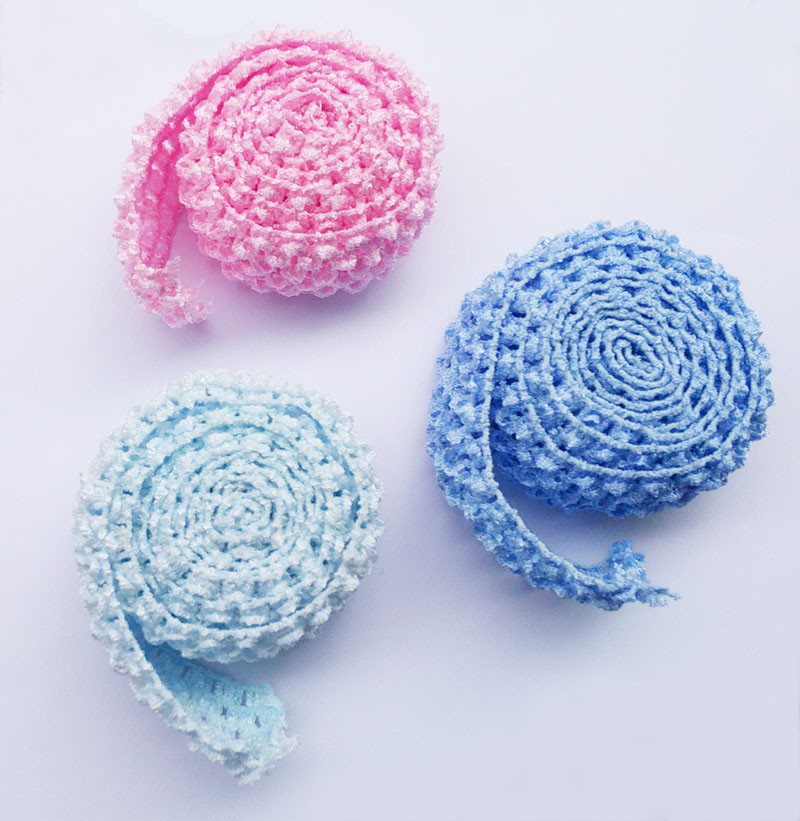 Detail Feedback Questions about 1.5 Inch Wide Crochet Headband ... 68d0612b55d