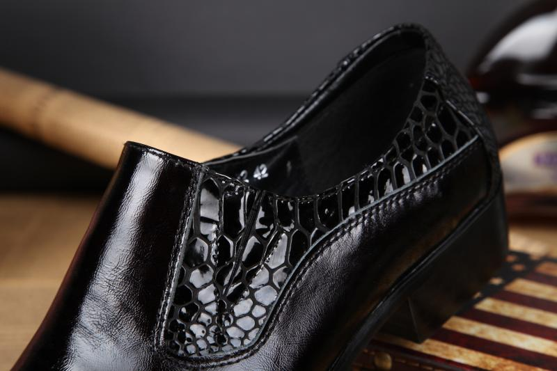 NA028 Man Formal For Crocodile Pointy Dress Men Oxford Leather Shoes Toe New Shoes Pattern Fashion 6aqB6r