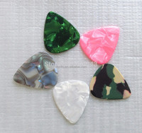 Sell guitar parts Celluloid electric guitar picks 1.0MM guitar Plectrums mixed colors