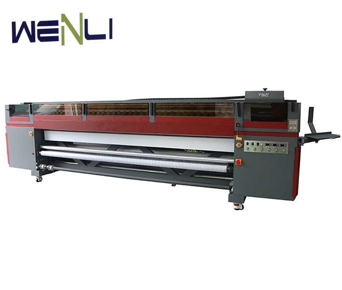 roll to roll digital eco solvent inkjet printer flex printing machine