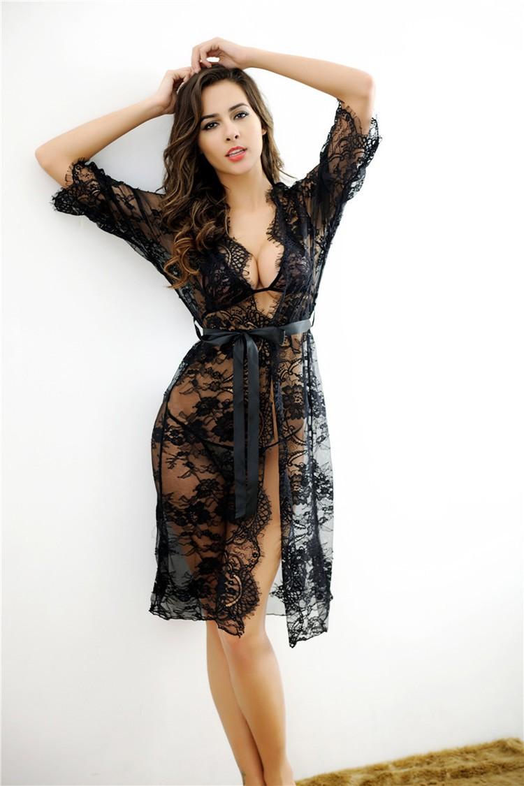 Bonvatt Ladies Sexy Silk Satin Night Dress Sleeveless Nighties V ...