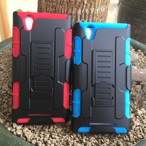 PC+TPU combo case for ZTE Z970 Durable Shockproof Armor cell phone case cover for ZTE Z970 Belt clip case